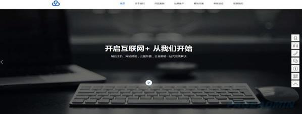软件开发公司网站模板 T9854.jpg
