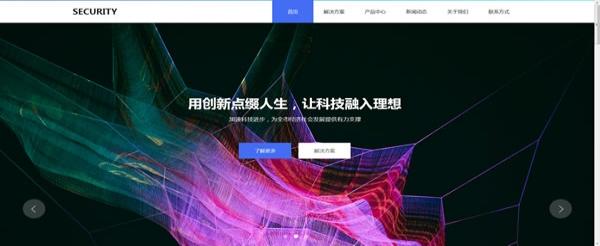 网络公司网站模板T10120.jpg