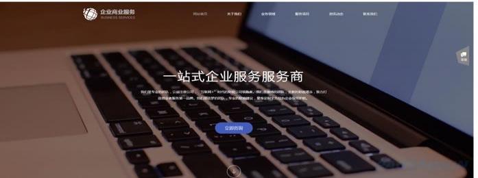 企业服务公司网站模板 T9859.jpg